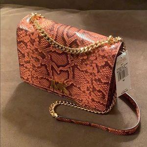 NWT Authentic Michael Kors Peach 🍑 Multi MOTT bag